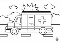 ColoringPage.Ambulance1