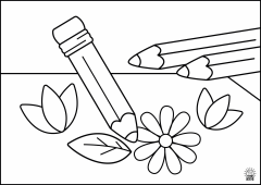 ColoringPage.Pencil1